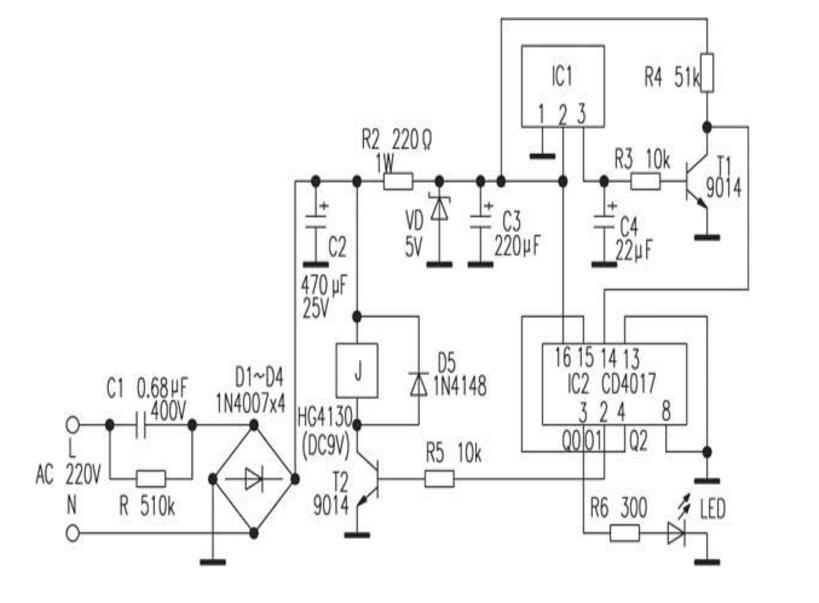最简单自制遥控开关电路(五款自制遥控开关电路)