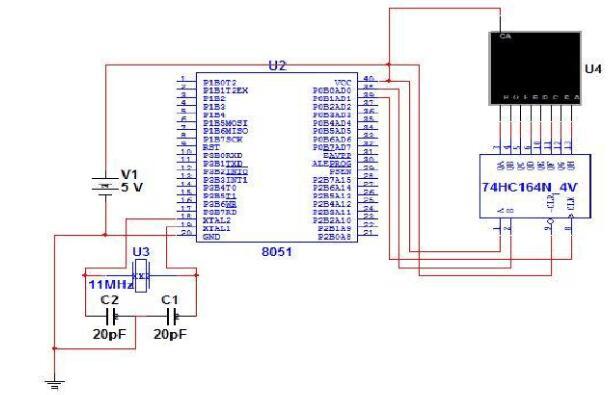 74hc164如何驱动数码管(74hc164工作...