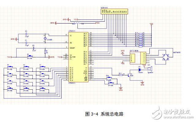 单片机电子秤电路图大全(六款电路图)