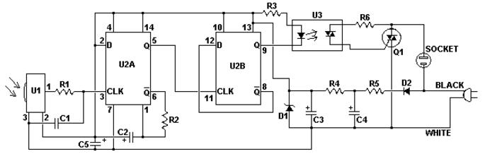 红外线遥控开关电路图大全(六款模拟电路设计原理图详解)