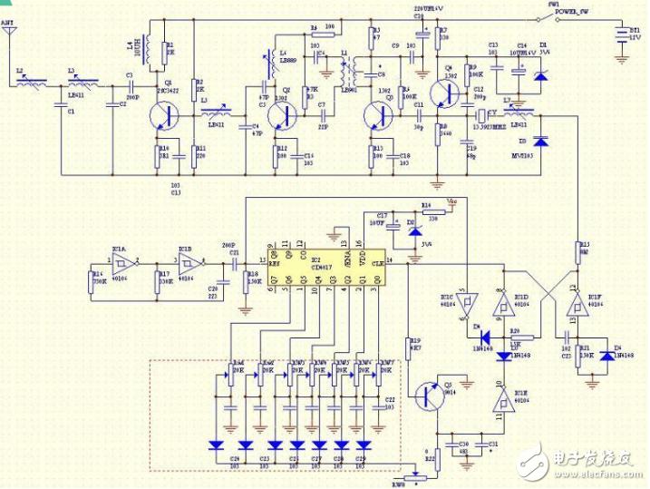 航模遥控开关电路图大全(四款模拟电路设计原理图详解)