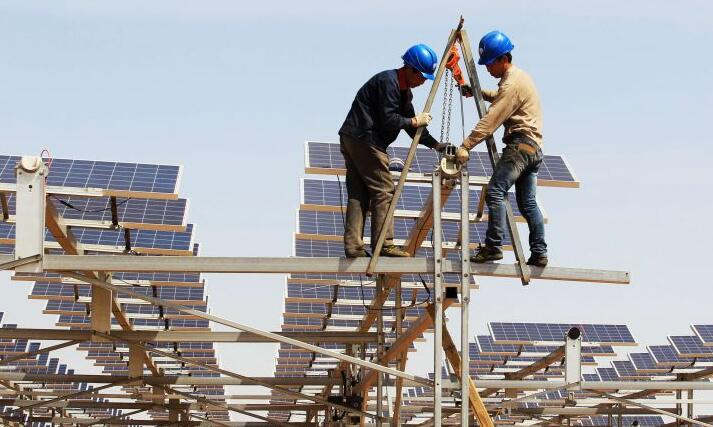 太阳能板如何安装_太阳能板安装示意图
