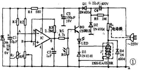 恒温电烙铁电路图大全(六款模拟电路设计原理图详解)