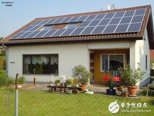 农村屋顶光伏发电的现状和发展