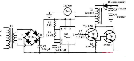 12v负离子发生器电路图(四款模拟电路设计原理图...