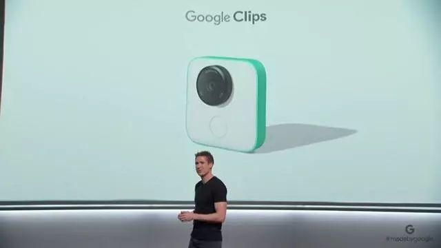 """谷歌推出了一款名为""""Clips""""的新设备 并开始销售这款产品"""