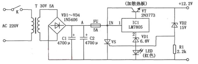 12v过压保护简单电路图大全(四款模拟电路设计原理图详解)