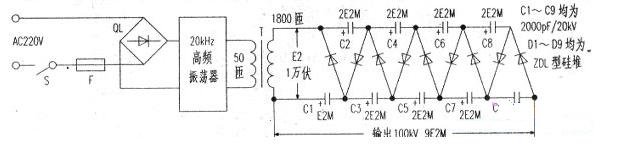 高频高压发生器原理