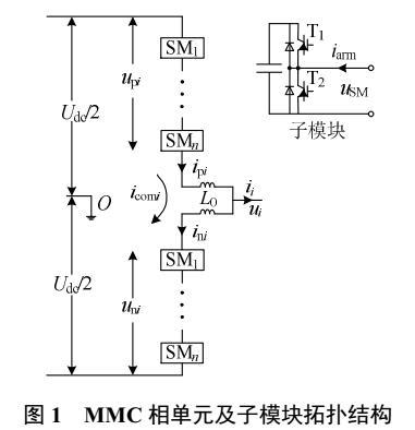 多电平换流器的环流抑制策略