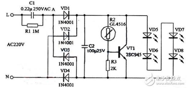 led灯开关电源电路图大全(五款模拟电路设计原理图详解)