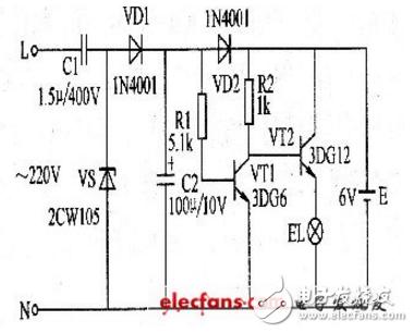 led应急灯电源电路图大全(六款模拟电路设计原理图详解)