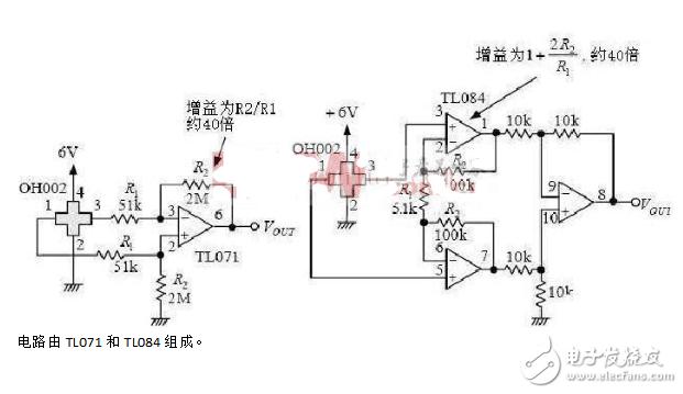 霍尔传感器电路图大全(六款霍尔传感器电路图)