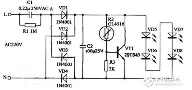 led灯驱动电源电路图大全(六款模拟电路设计原理...