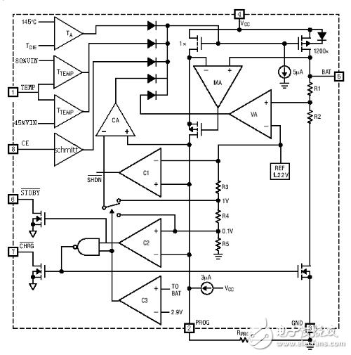基于TP4056的锂电池充电模块电路分享