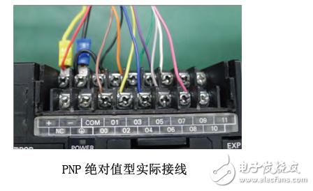 编码器颜色对照接线图