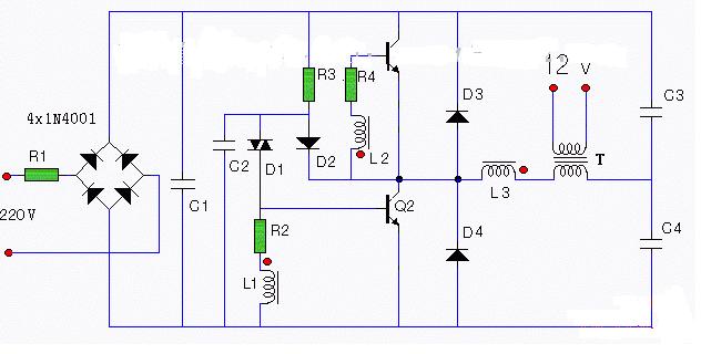 led灯开关电源电路图大全(五款模拟电路设计原理...