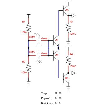 LED光敏传感器电路图大全(十二款LED光敏传感器电路设计图)