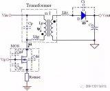 反激式转换器工作原理以及反激开关MOSFET源极流出的电流波形转折点的分析