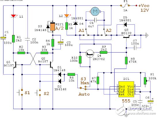 十一款经典NE555应用电路图详解