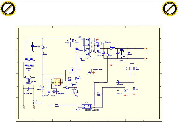 12V5A开关电源原理图