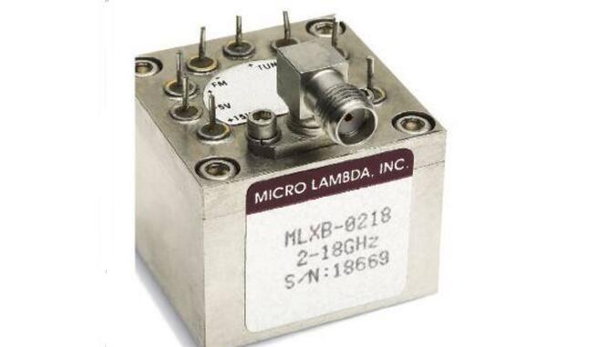 基频高达20GHz的宽带YIG振荡器