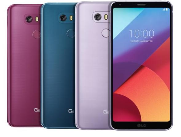 LG G6新增三款配色 搭载骁龙821 2月正式开售