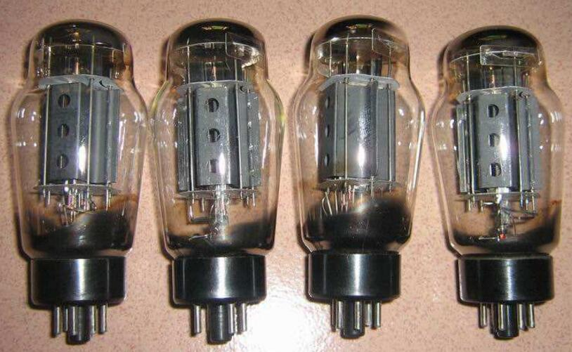 常用电子管型号大全(电子管内部结构与引脚图)