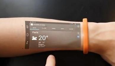 """显示屏将以""""印刷""""存在 有机薄膜晶体管技术的柔性显示屏或将在湖北诞生"""
