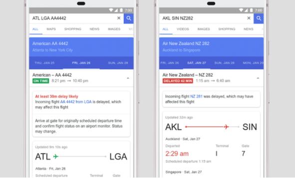 谷歌利用人工智能技术来预测航班延误
