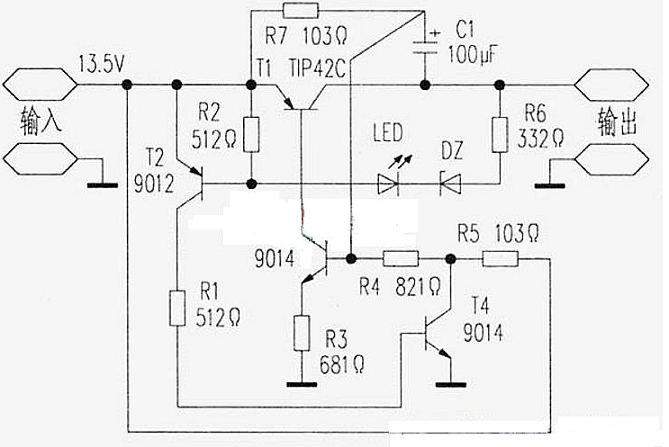 过流保护自恢复电路图大全(六款模拟电路设计原理图详解)