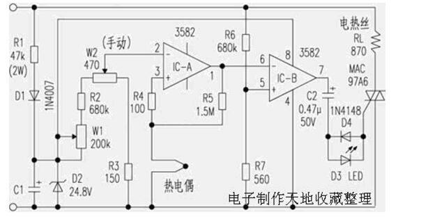 60w电烙铁调温电路图大全(四款电烙铁调温电路图)