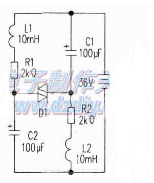 蓄电池负脉冲保护装置制作