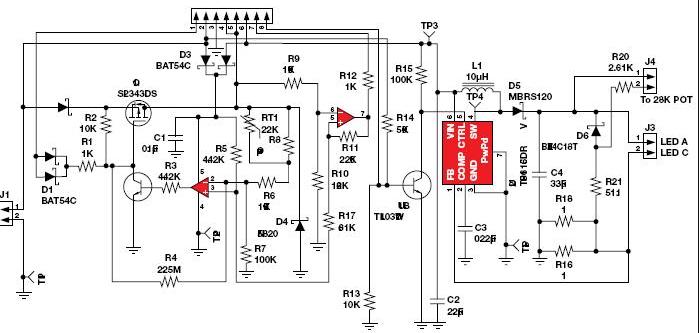 5v太陽能路燈電路圖大全(四款5v太陽能路燈原理圖詳解)