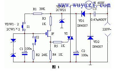 双向可控硅调光电路图大全(四款模拟电路设计原理图详解)