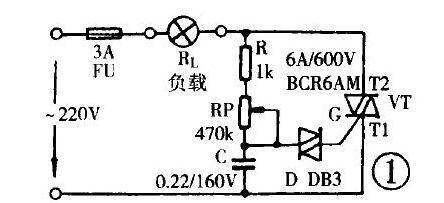 220v双向可控硅电路图大全(八款模拟电路设计原理图详解)