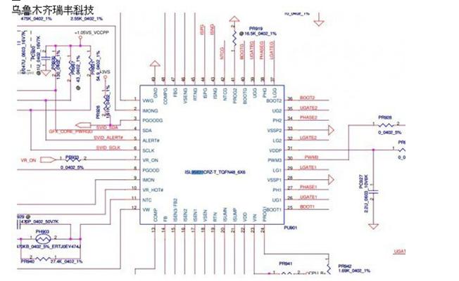 联想电脑维修实际案例--G470笔记本电路分析图