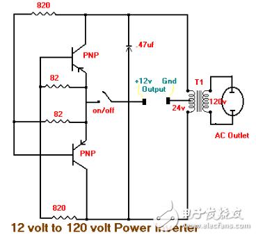 12伏变36伏的转换器电路大全图片