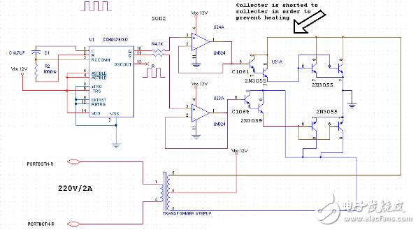12V到220V逆变器电路图-12伏变36伏的转换器电路大全图片