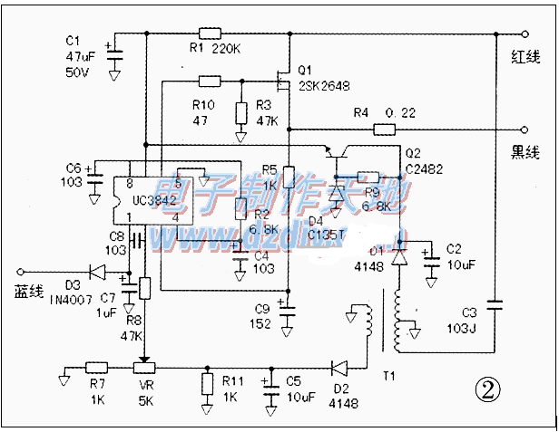 万能电源模块原理图 常见故障处理方法