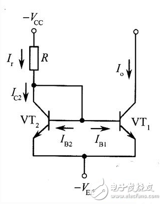 镜像恒流源的基本电路图文详解