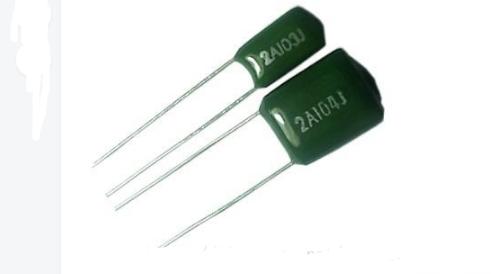 有感结构,聚酯膜,环氧树脂包封.    怎样测试涤纶电容的好坏?