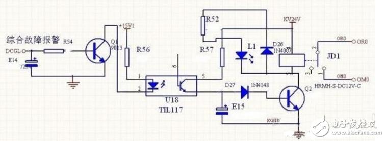 光电隔离电路设计方案(六款基于光耦、AD210AN的光电隔离电路图)