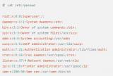 整理了 Linux 用户及用户组管理的相关内容