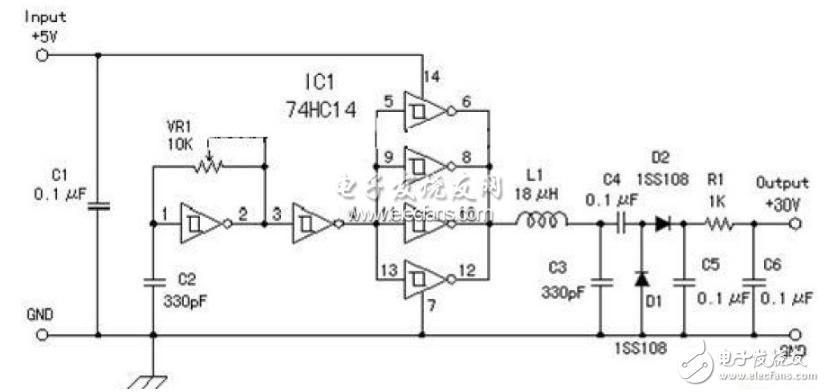 5v升压12v电路图大全(十款5v升压12v电路原理图详解)