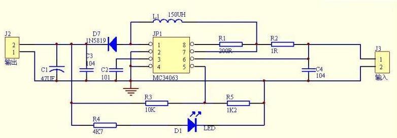 5v升压12v电路图大全(十款5v升压12v电路...