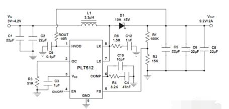3.7伏升9伏电源电路图大全(五款模拟电路设计原...