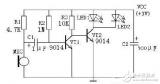 9014制作闪灯电路图大全(三款模拟电路设计原理...