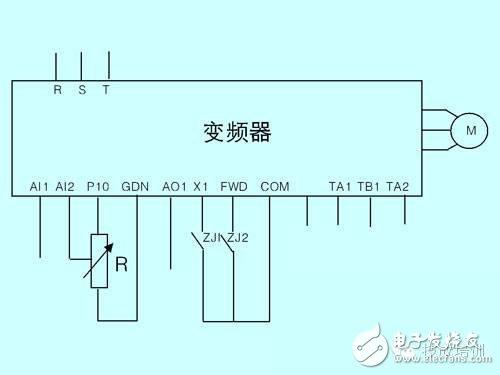 plc接线图,变频器接线图,plc外部接线图,三菱plc接线图等图解.