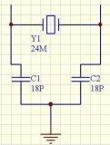 晶振负载电容的计算方法以及需要注意的地方