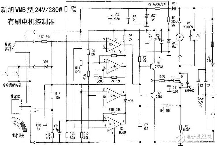 电动车控制器工作原理图文解析